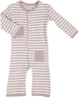 L'ovedbaby Organic Overall (Baby) - Mauve Beige-6-9 Months