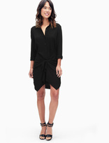 Splendid Rayon Voile Tie Shirtdress