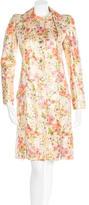Christian Dior Metallic Brocade Coat