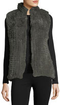Bagatelle Faux-Fur Knitted Vest