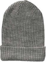 Joe Fresh Kid Girls' Ribbed Sparkle Beanie, Grey (Size S/M)