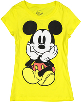 Jerry Leigh Mickey Mouse Yellow Tee - Juniors
