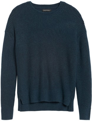 Banana Republic JAPAN EXCLUSIVE Oversized Ribbed-Knit Sweater