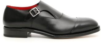 Alexander McQueen Contrast Lining Monk Shoes