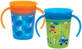 Munchkin Miracle 360 Trainer Cup - Green/Blue - 7 oz - 2 ct
