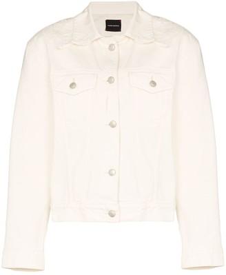 Magda Butrym Mayville denim jacket