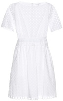 Carven Cotton Broderie Anglaise Dress