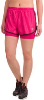 Pony Running Shorts - Built-In Liner Shorts (For Women)