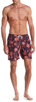 Trunks San O Charm Palm Tree Swim Trunk