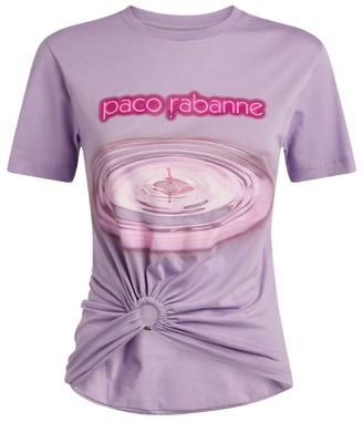 Paco Rabanne Drop Print T-Shirt
