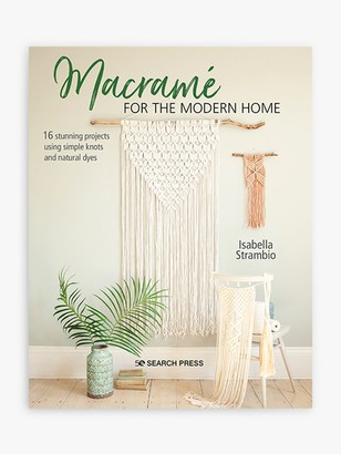 Search Press Macrame for the Modern Home by Isabella Strambio