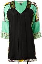 Etro three-quarters sleeve blouse - women - Silk/Cotton/Viscose/Metallic Fibre - 42
