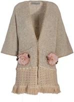 BEIGE The Extreme Collection Kimono Style Coat Justina