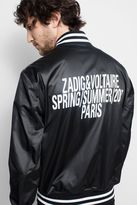 Zadig & Voltaire Boris Bomber