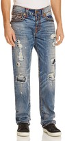 True Religion Ricky Relaxed Fit Jeans in Mended Brawl