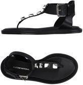 CNC Costume National Toe strap sandals