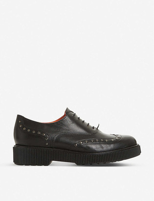 Bertie Filetch studded leather oxford shoes