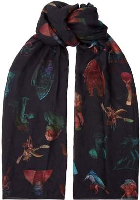 Paul Smith Men In Black Scarf