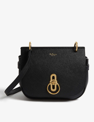 Mulberry Amberley grained leather small satchel bag