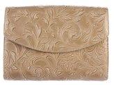 L'Wren Scott Leather Flap Clutch w/ Tags