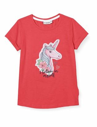 Salt&Pepper Salt and Pepper Girls' gedruckte Einhorn Applikation mit Steinchen T-Shirt