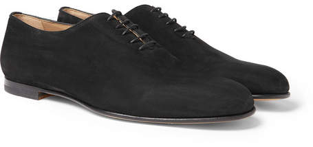 Brioni Suede Oxford Shoes
