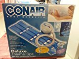 Conair New Deluxe Thermal Spa/ Model MBTS6NW/ Blue Mat