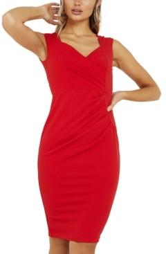 Quiz Sweetheart Bodycon Dress