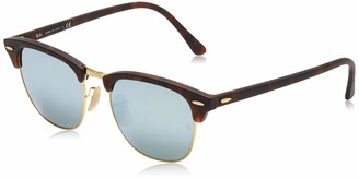 Ray-Ban Men's Rb3016 Clubmaster Square Sunglasses