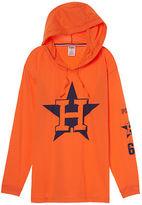 PINK Houston Astros Campus Hoodie Tee