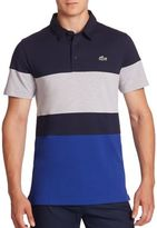 Lacoste Ultra-Dry Colorblock Polo Shirt