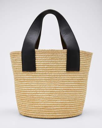 Sensi Studio Woven Straw Maxi Tote Bag
