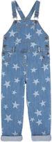 Stella McCartney Star-printed jean overalls