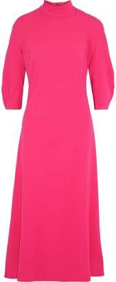KHAITE Sabrina Open-back Stretch-crepe Midi Dress