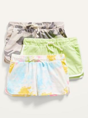 Old Navy Dolphin-Hem Cheer Shorts 3-Pack for Girls