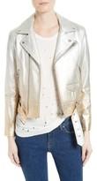 IRO Women's Calum Metallic Leather Jacket