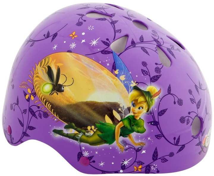 Pacific Cycle Tinkerbell Hardshell Helmet & Pads - Child