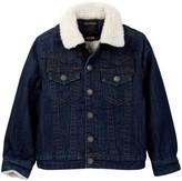 True Religion Faux Shearling Jacket (Big Boys)