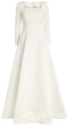 Alexis Mabille Satin Maxi Dress
