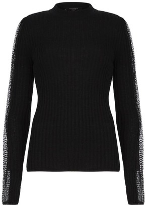 AllSaints Wool-Rich Levin Sweater