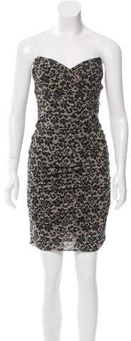 Dolce & Gabbana Silk Lace Print Dress w/ Tags