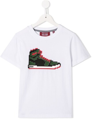 Mostly Heard Rarely Seen 8-Bit Tiny Red Sneak T-shirt