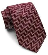 BOSS Chevron Silk Tie