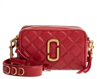 Marc Jacobs THE The Softshot 21 Quilted Leather Crossbody Bag