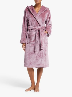 John Lewis & Partners Cece Shimmer Fleece Robe
