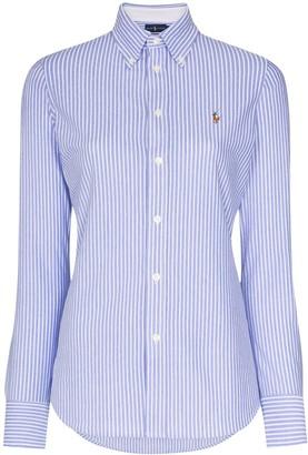 Polo Ralph Lauren Logo-Embroidered Stripe Shirt
