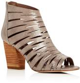 Donald J Pliner Greece Metallic Caged Sandals