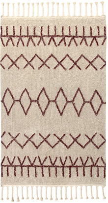 Lorena Canals Bereber Washable Rug - Burgundy - 140x200cm