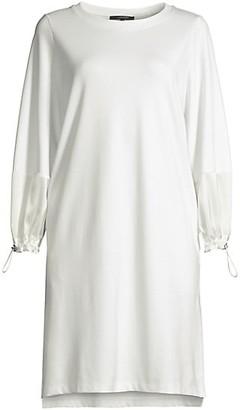 Kobi Halperin Stevie Drawcord Sweatshirt Dress