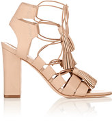 Loeffler Randall Women's Tassel-Detailed Luz Sandals-TAN